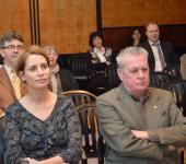 Dr. Némethné dr. Szent-Gály Edit, a Veszprémi Törvényszék Elnöke és dr. Horváth György nyugalmazott elnök