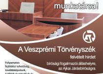 Fogalmazói álláshely az Ajkai Járásbíróságon